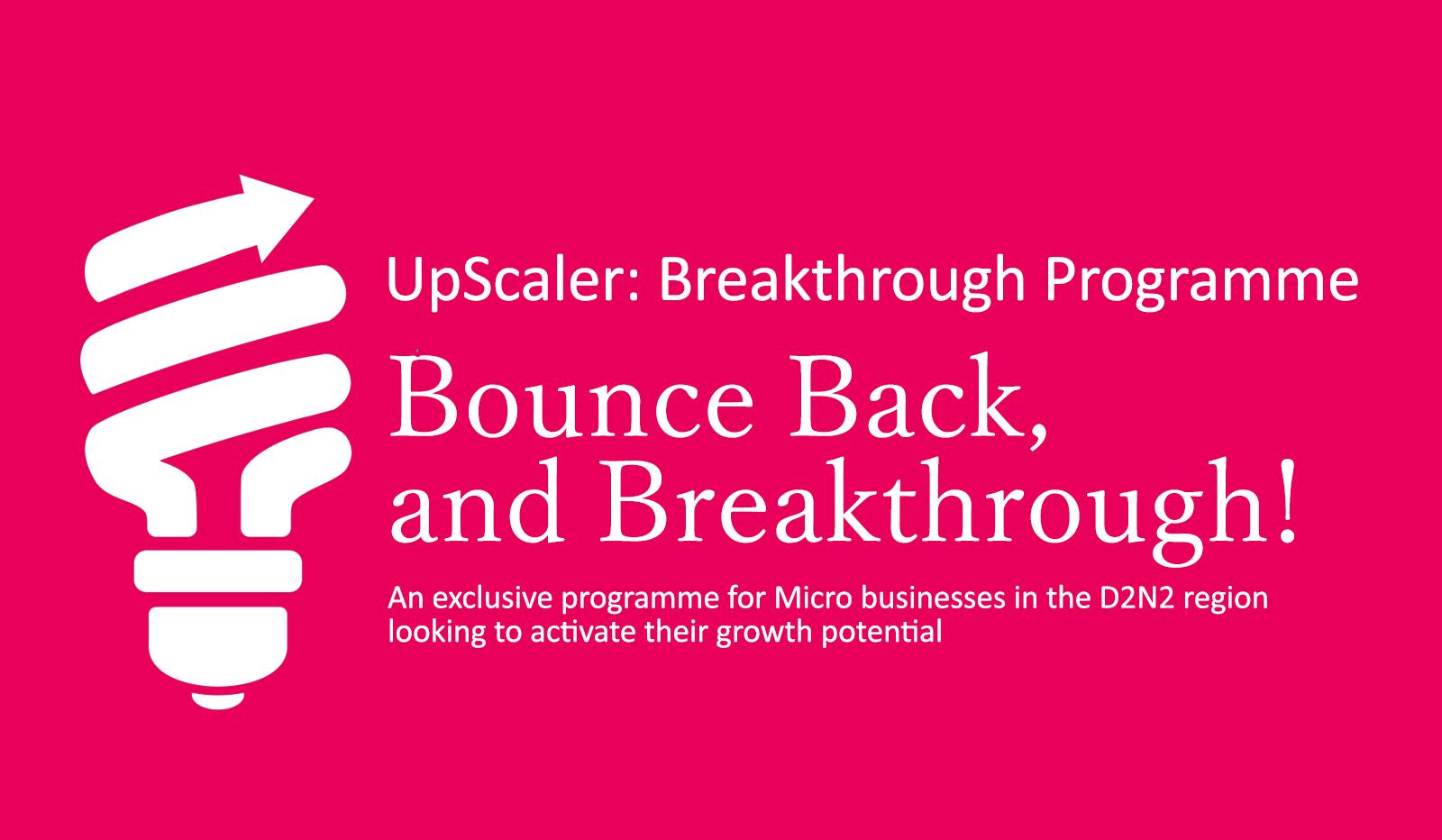 Scale Up Breakthrough Workshop