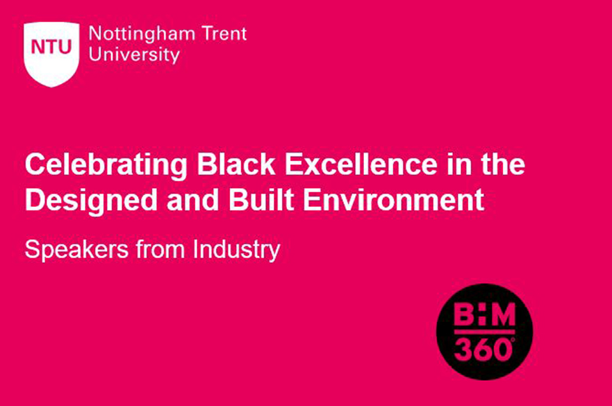 Celebrating Black Excellence in the Designed and Built Environment: Speakers from Industry