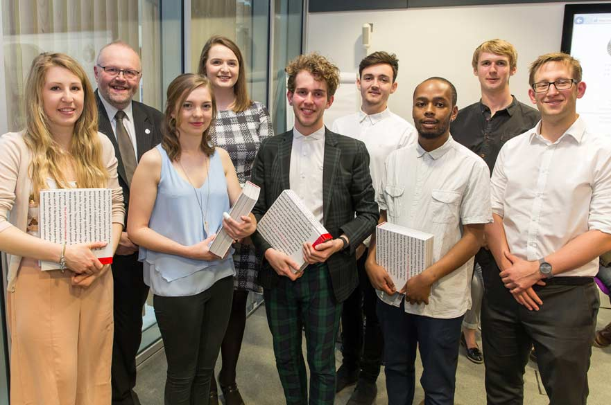 Chartered Society of Designers students