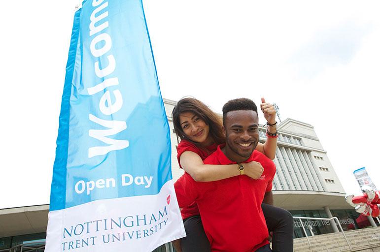 Nottingham Trent Open Day