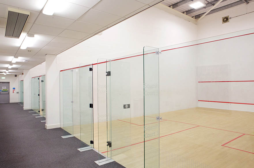 Squash Courts on the Clifton Campus