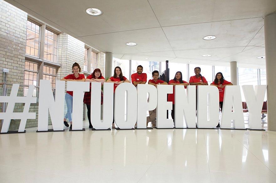 Nottingham Trent University open day