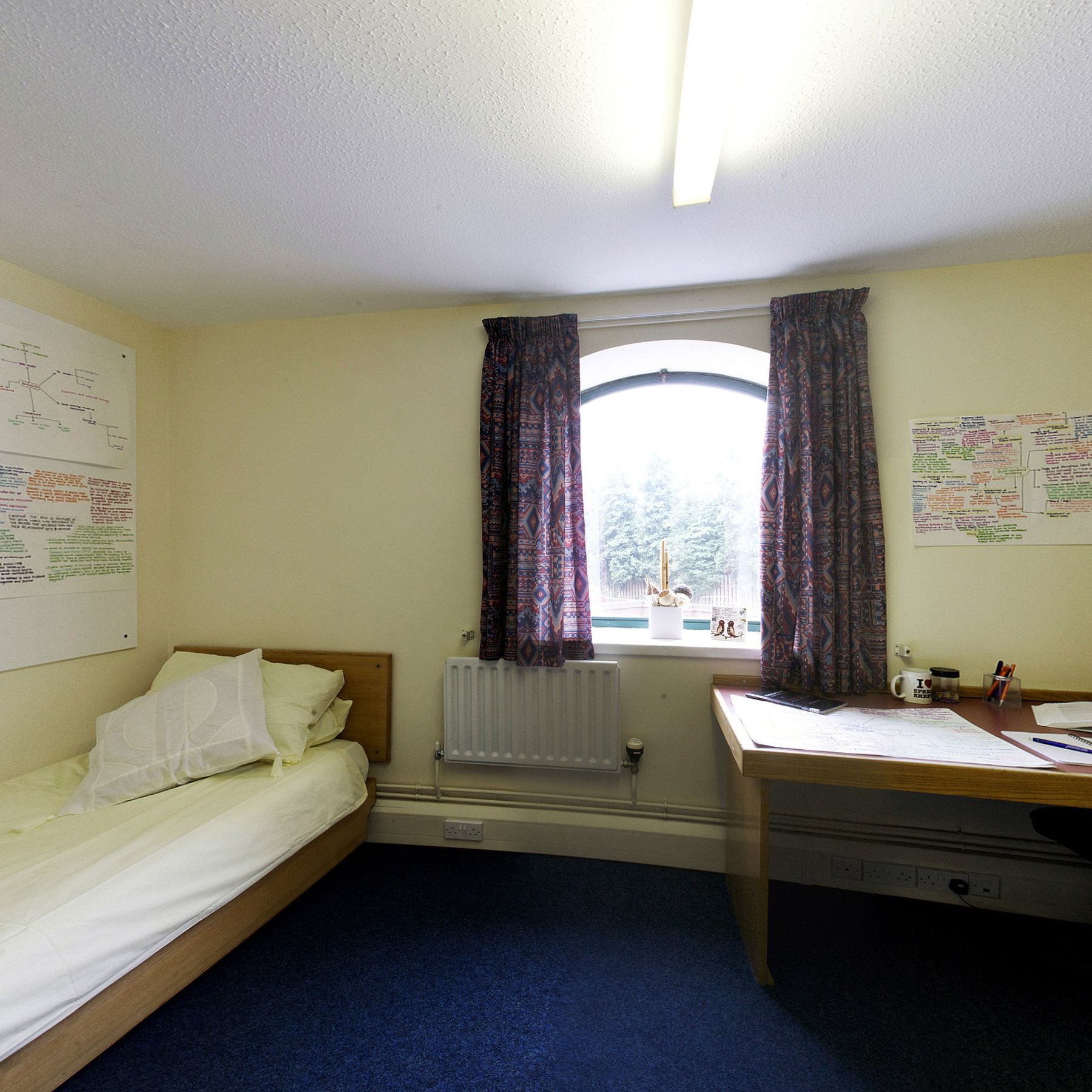 The Maltings bedroom