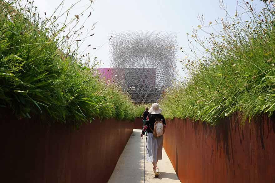UK Pavilion exterior