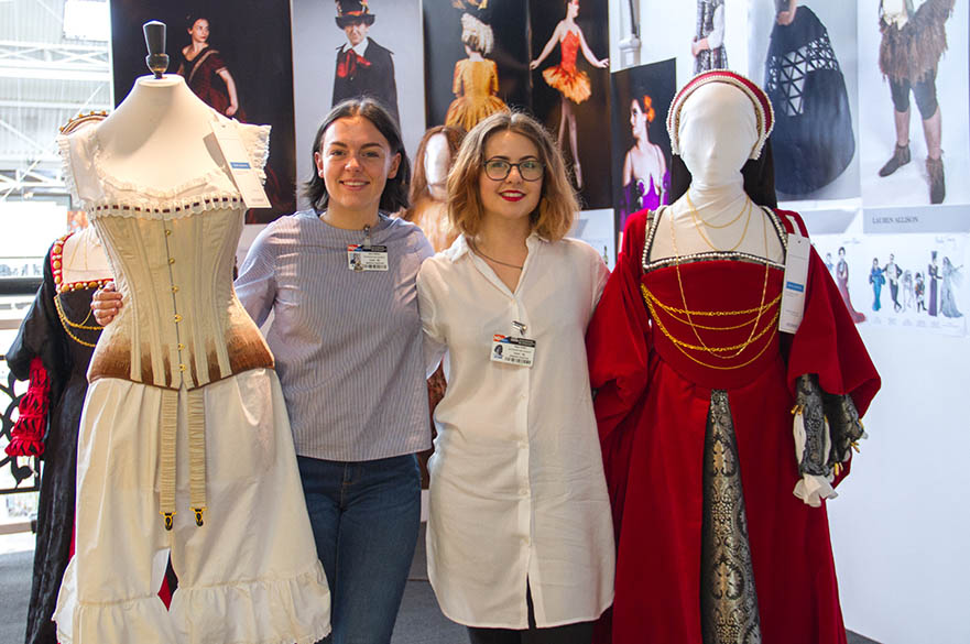 Saria Roberts and Maya Griffin, BA (Hons) Costume Design and Making, New Designers Part One 2017