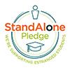 The 'Stand Alone Pledge' Logo