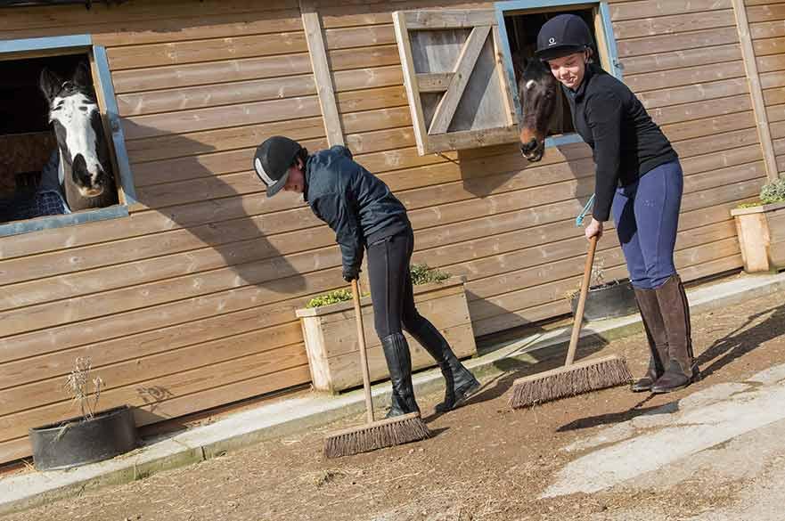 Equestrian Centre at Brackenhurst