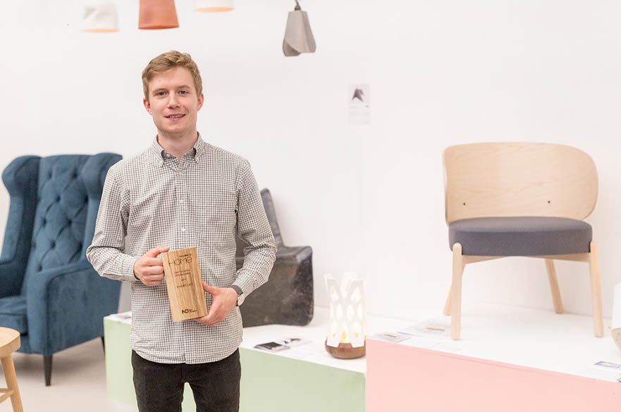 Jak Tanser, BA (Hons) Furniture and Product Design, New Designers Part Two 2017