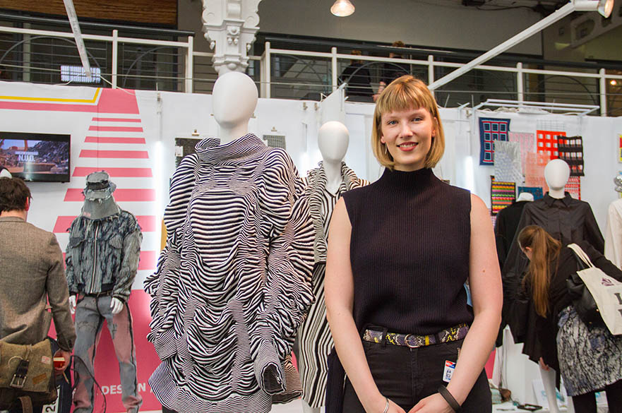 Katy Grieves, MA Fashion Knitwear Design, New Designers Part One 2017
