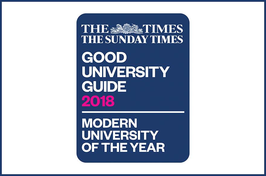 Modern University logo