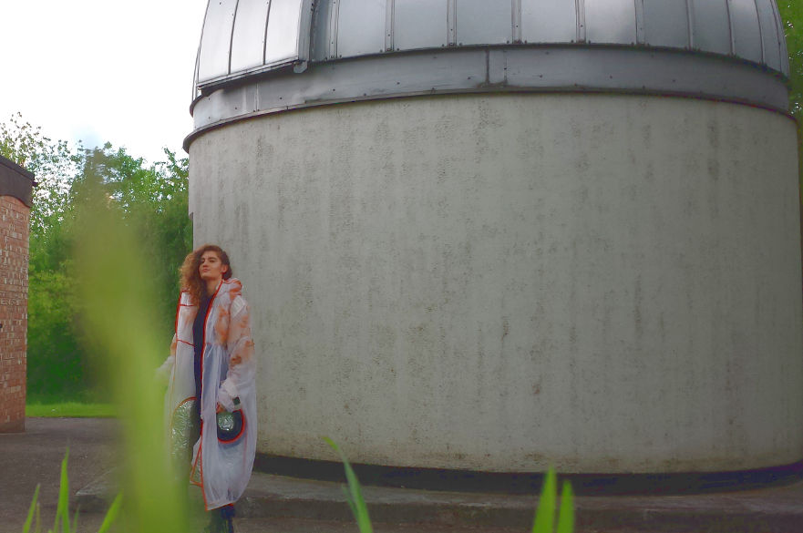 Space visitor at Observatory