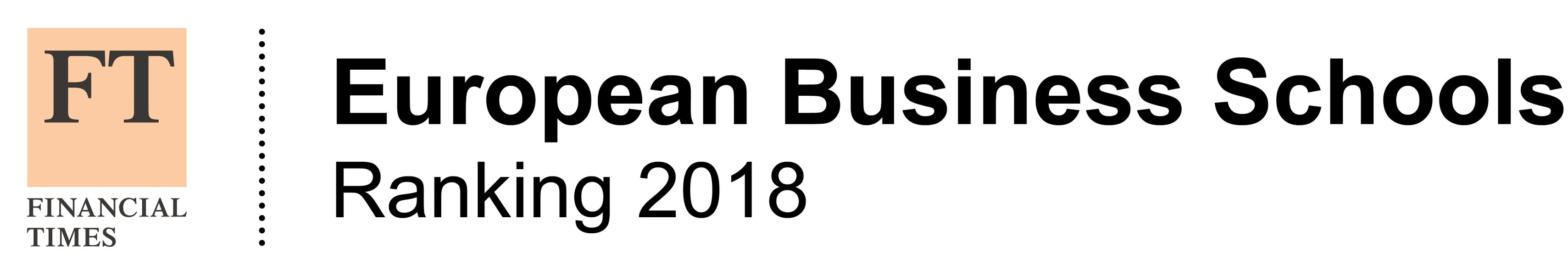 FT European Business School 2018