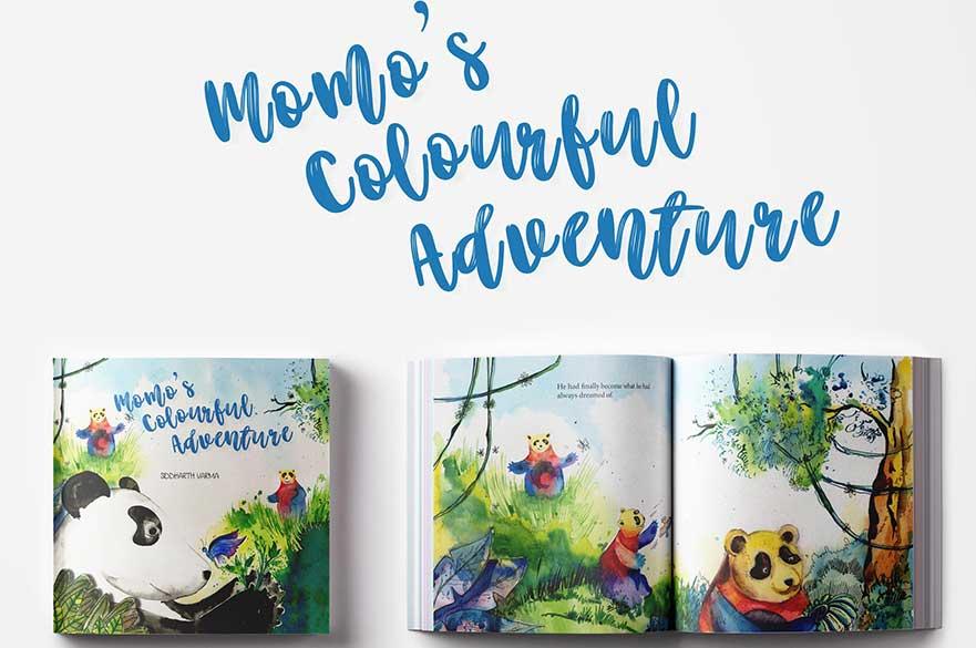 Momo's Colourful Adventure