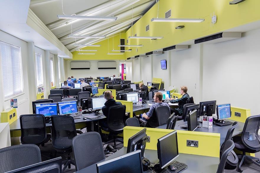 City Campus IT facilities image