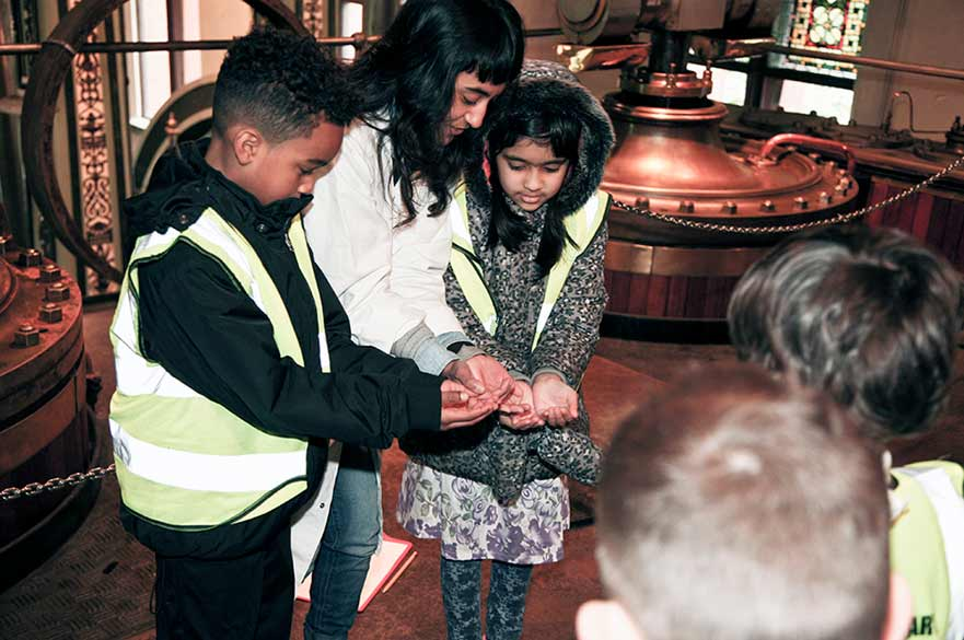 Water Discovery session - Papplewick Pumping Station