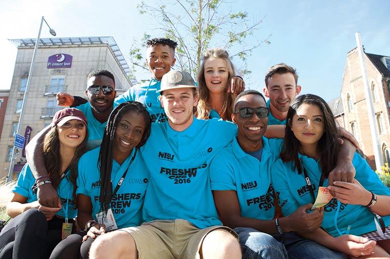 NTU's Freshers Crew in 2015