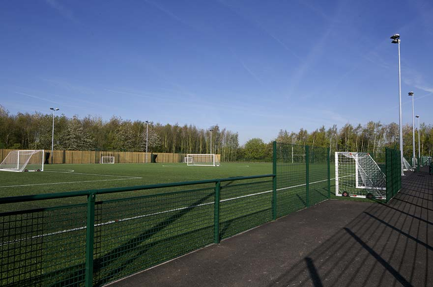 3G pitch on the Clifton Campus