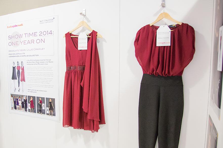 Lillie Crawley red dress
