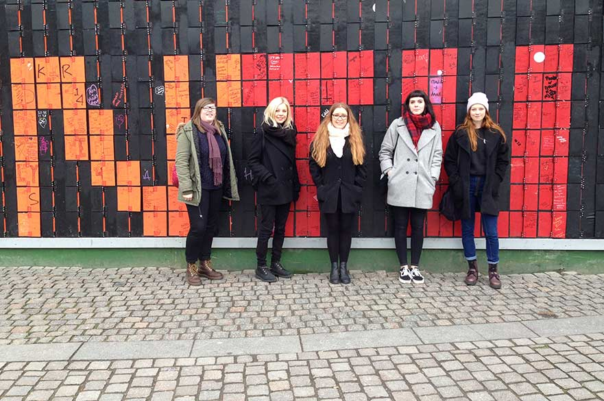 Fine Art students Copenhagen