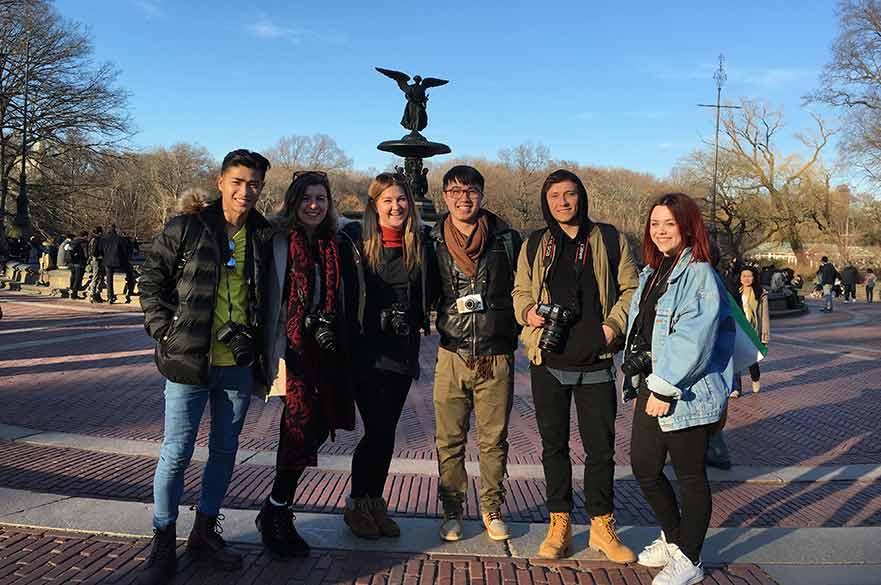 Alannah Messett study trip to New York