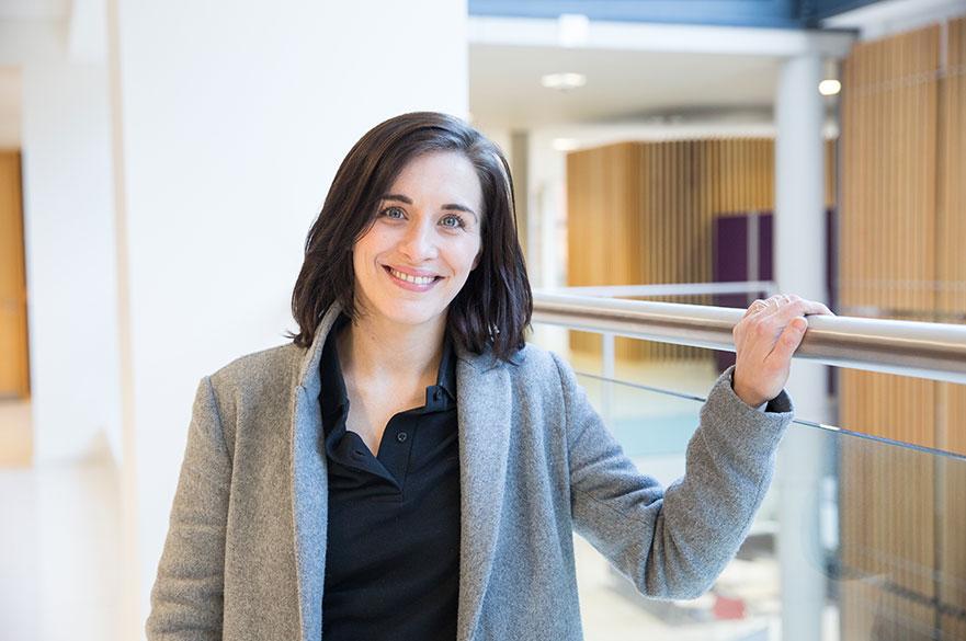 Vicky McClure visits NTU in 2017