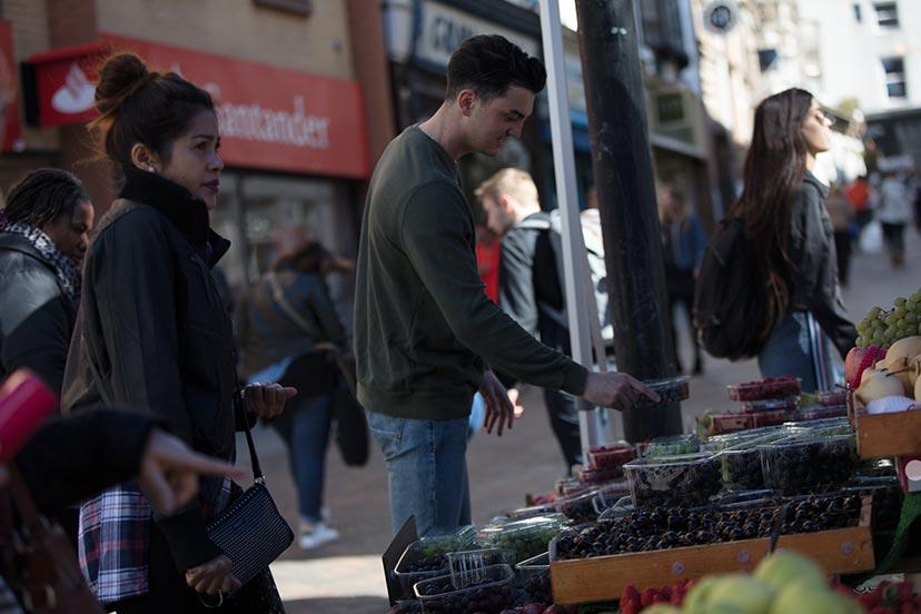 Buying Fruit and Veg