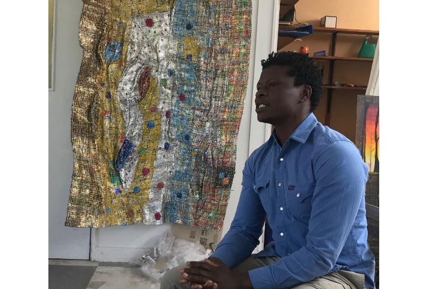 MA fine art students welcome Kenyan artists two at NTU