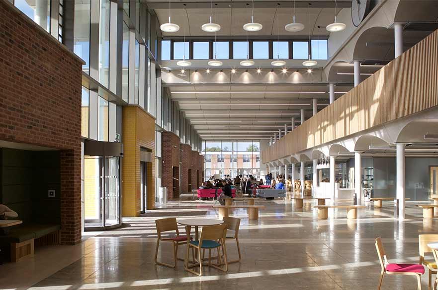 Clifton Pavillion interior