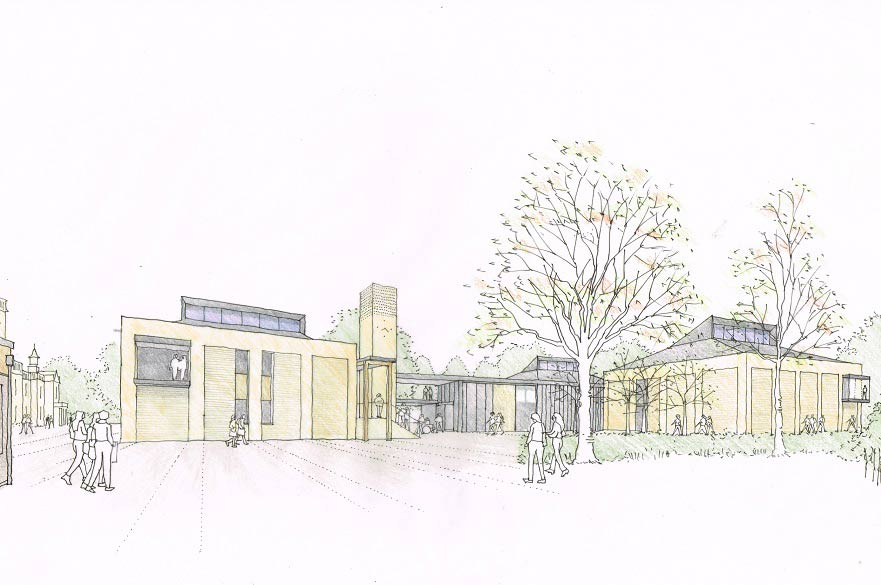 Artist's impression of Brackenhurst