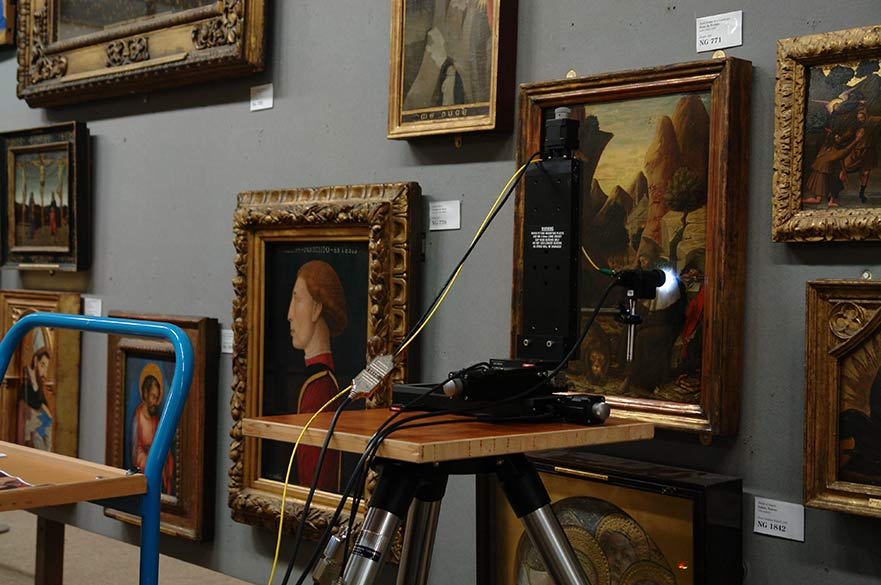 Imaging of Varnish Layers Using OCT at National Gallery