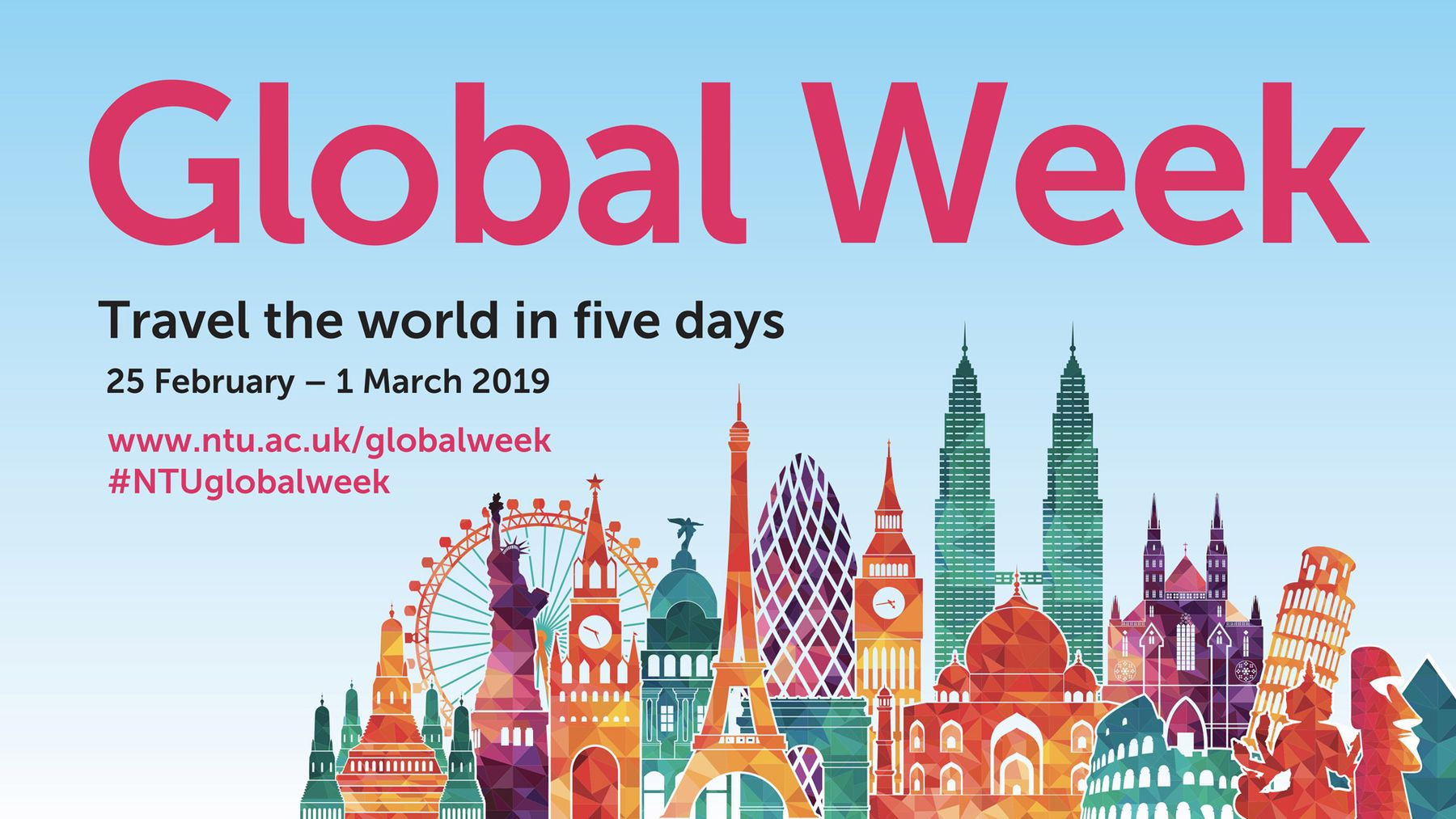 Global Week visual identity