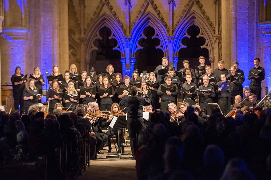 NTU Chamber Choir perform at Southwell Minster
