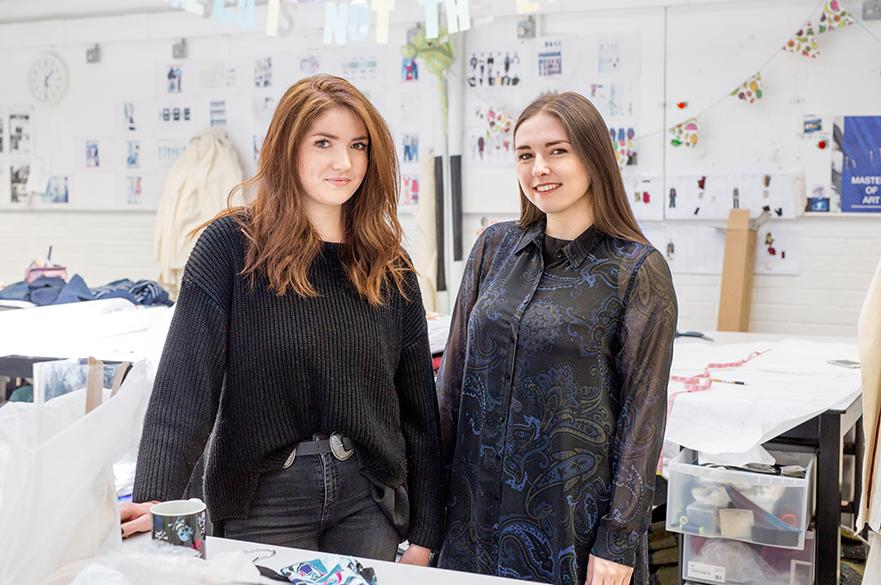 Natasha Flannery and Leanne Westbury