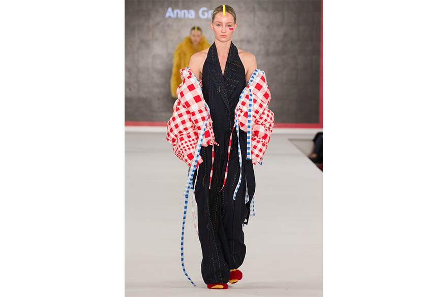 Anna Grey, BA (Hons) Fashion Design, Graduate Fashion Week 2017