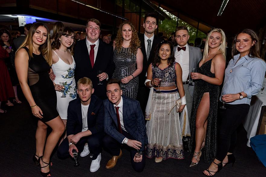 The TrentTV team at the NaSTA Awards