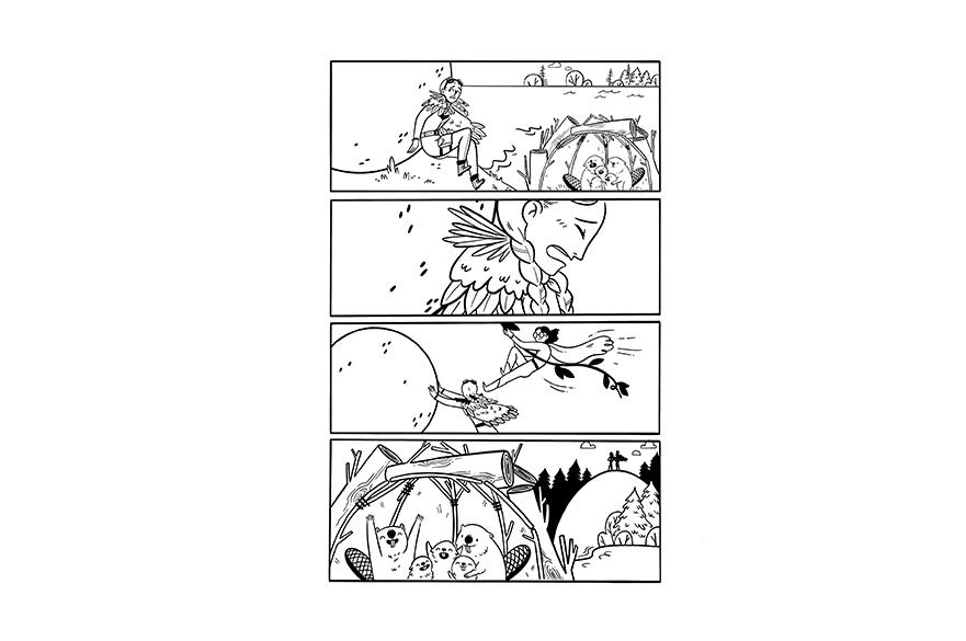 Luna Valentine, MA Illustration