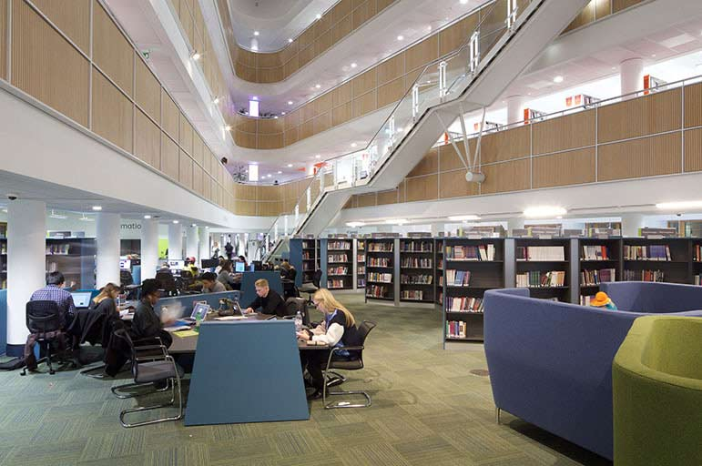 Boots Library, City Campus