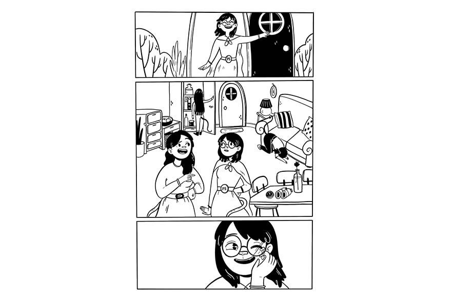 Work by Luna Valentine- Graphic Novel Maggie Chowder