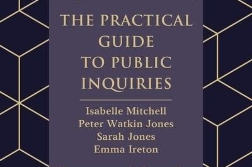 The Practical Guide to Public Inquiries Book Cover