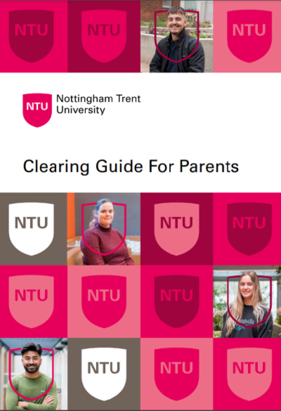An image of the front cover of the Clearing guide for parents