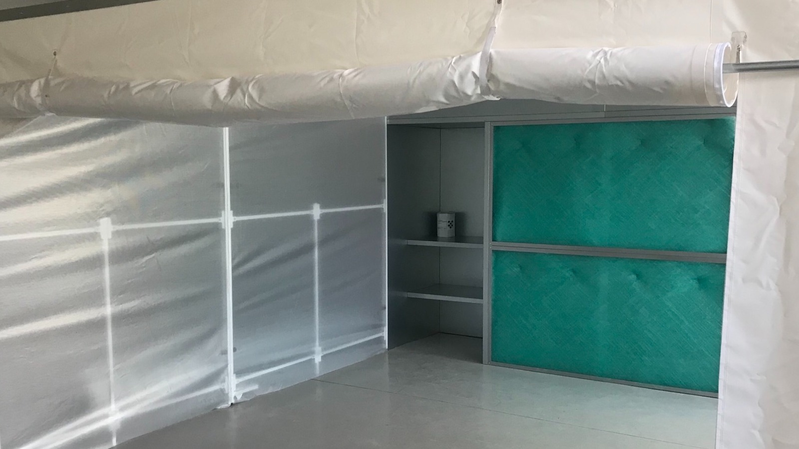 Image of Spray Booth