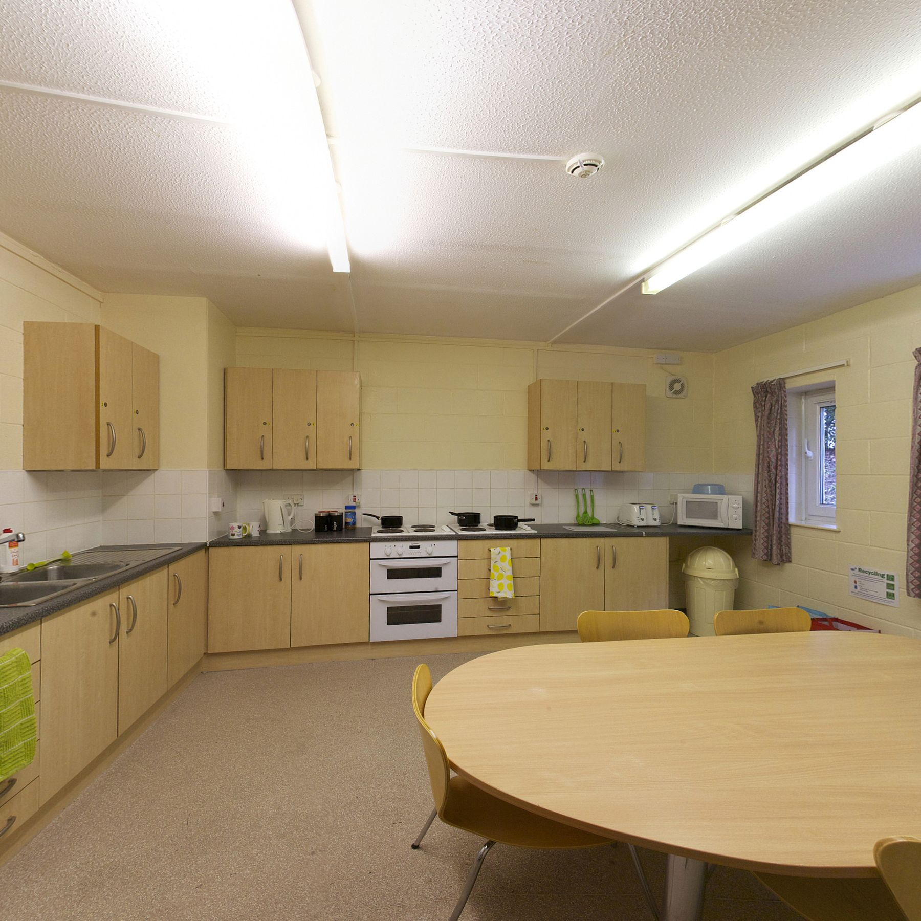 Meridian Court kitchen