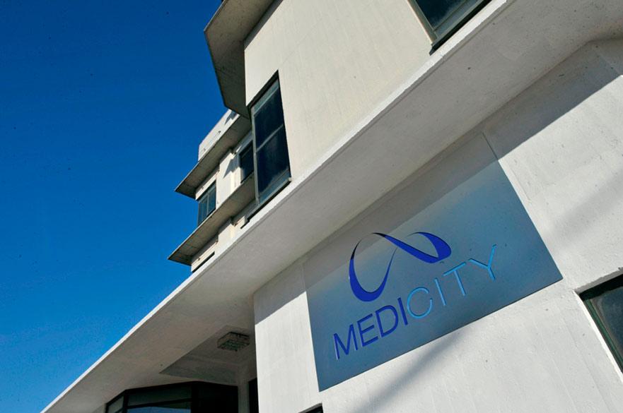 MediCity Main Entrance