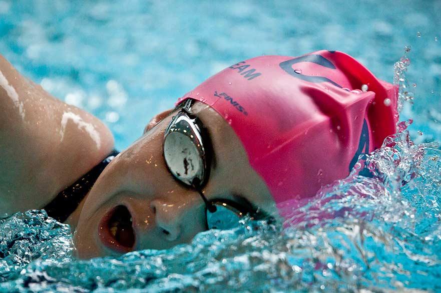 NTU swimmer