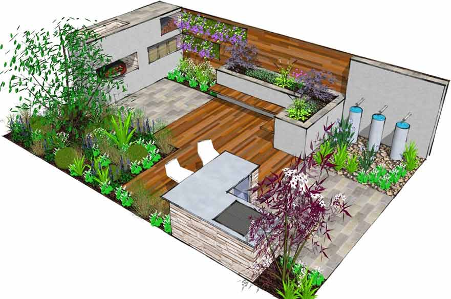 Neil Sutcliffe garden design