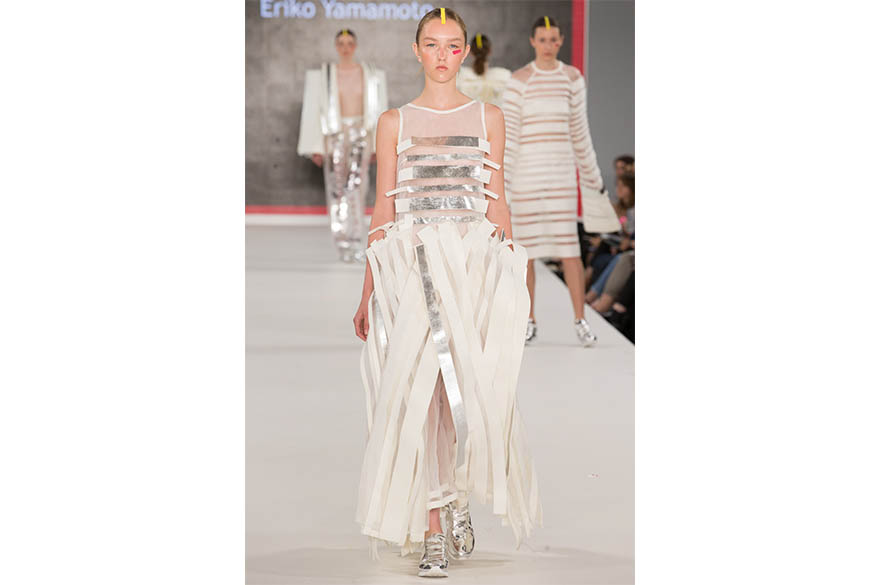 Eriko Yamamoto, BA (Hons) Fashion Design, Graduate Fashion Week 2017