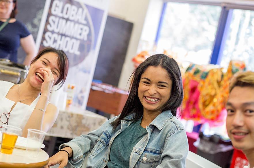 Global Summer School students