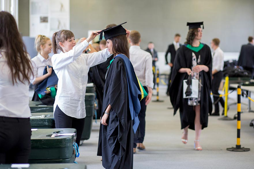 Hire your gown and hood | Nottingham Trent University