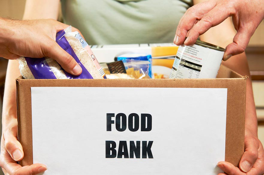 New research shows that foodbanks can shed light on the impact of poverty, austerity, and government policies in society. (Getty)