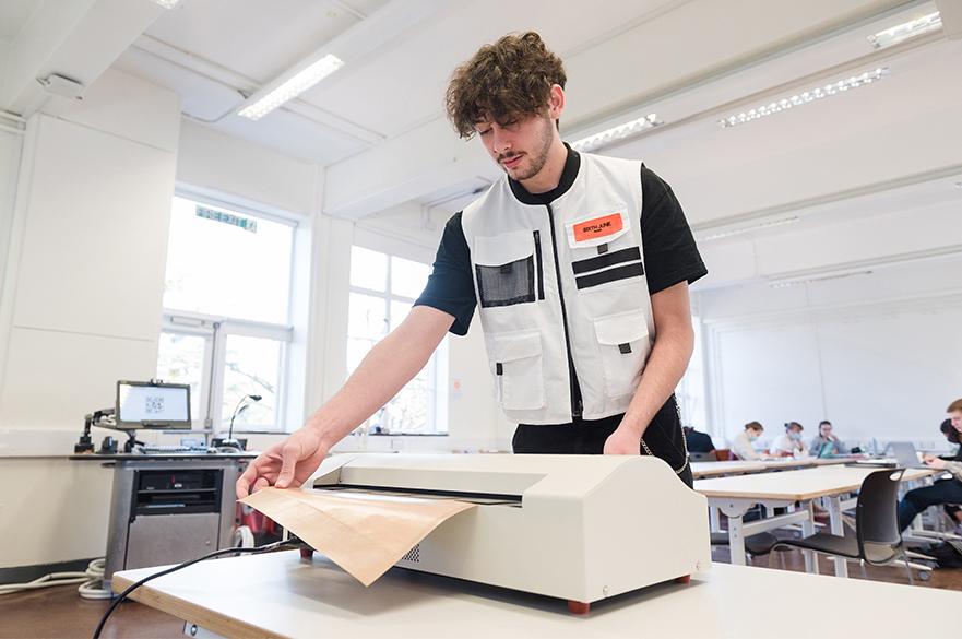 Student working in Waverley